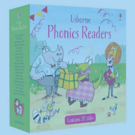 phonics readers from usborne books