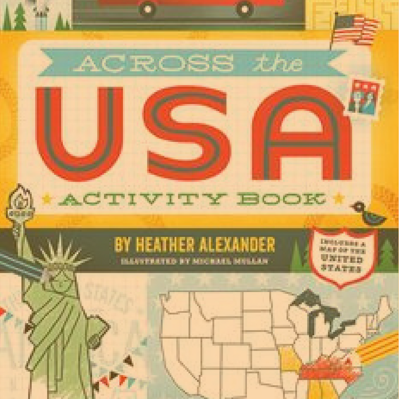 united states activity usborne book